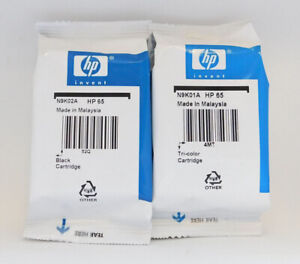 New-HP-65-Combo-Ink-Cartridges-Black-amp-Color-Genuine