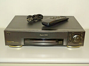 Panasonic NV-HS900 High-End S-VHS Videorecorder mit FB, 2 Jahre Garantie