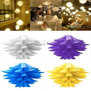 Modern-Lotus-Pendant-Chandelier-Pendant-Ceiling-Lamp-Hanging-Light-Lampshade-DIY