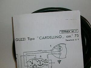 IMPIANTO-ELETTRICO-ELECTRICAL-WIRING-MOTO-GUZZI-CARDELLINO-73-SCHEMA-ELETTRICO