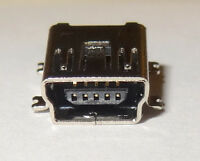 10 Pcs Mini Usb Type B Connector, Recept. , Pcb Mount Smd R/a By Samtec 25e1