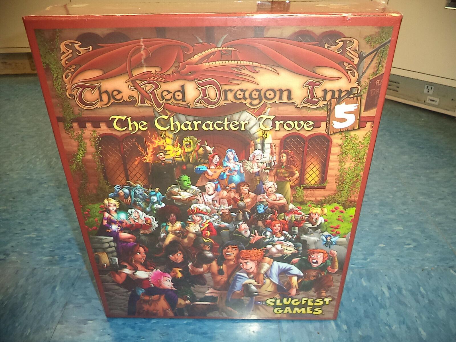 El Dragón Rojo Inn 5 Cocheacteres Tesoro-Slugfest Juegos Juego De Mesa  nuevo