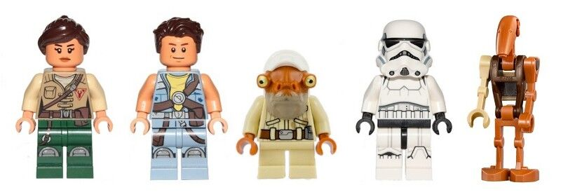 LEGO 75186 - Star Wars - The Arrowhead - - - 5 Mini Figures Set 7b435a