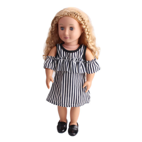 Mini 18 inch American Girl Our Generation  Doll Clothes Dress Outfits Pajames