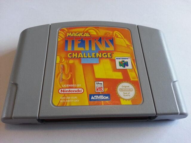 Magical Tetris Challenge (Nintendo 64 N64 PAL AUS/NZ/UK Free Shipping Worldwide)