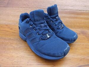 ... Adidas-ZX-Flux-Bleu-marine-Baskets-Decontractees-Taille-