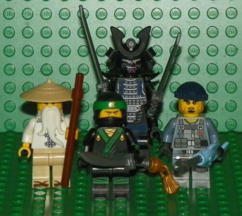 The Ninjago Movie Wu /& Charlie Mini Figure Lot Green Ninja Garmadon LEGO