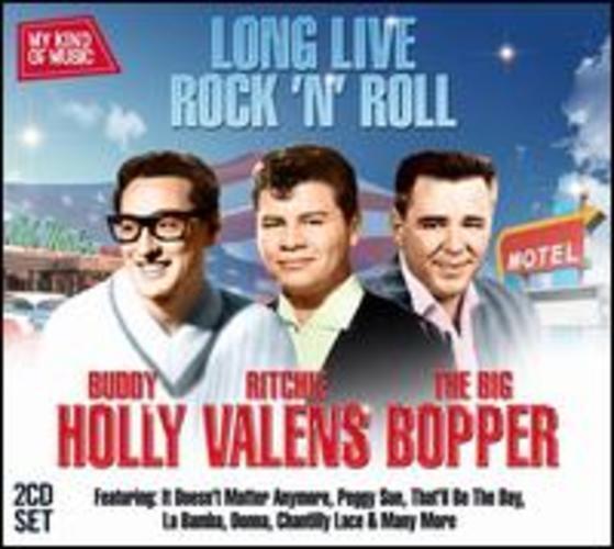 Buddy Holly Big Bopper Long Live Rock N Roll My Kind Of Music 2 Cd For Sale Online Ebay