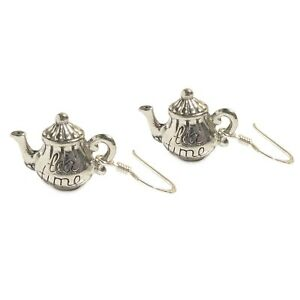 Alice-in-wonderland-Tea-Pot-Earrings-Sterling-silver-TEA-TIME-mad-hatter-party