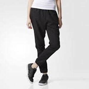 Lechuguilla cemento Salida  Adidas Womens Neo Woven Jogger Track Pants BK8042 Black Mult Sizes New    eBay