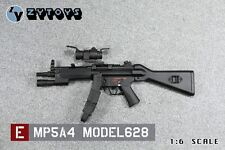 "MP5A4 Model 628 by ZY Toys 1/6th Scale for 12"" Action Figure"