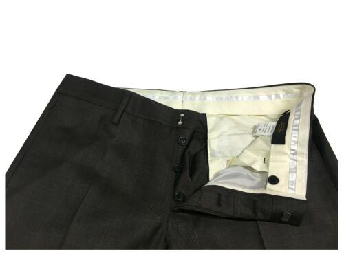 Italy da Marrone Galles Pantaloni In Made Scuro Grifoni Fantasia Mauro uomo di Principe n6nIfqFw7d