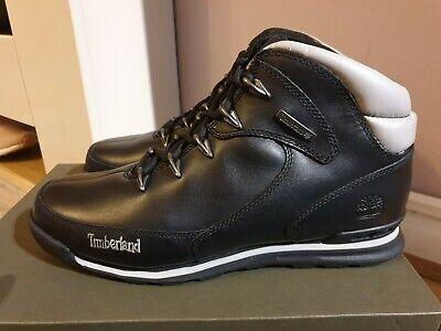 Timberland Euro Hiker Black Boots