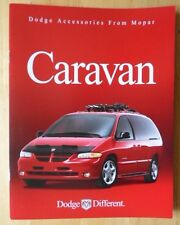 DODGE Caravan Accessories orig 1999 2000 USA Mkt sales brochure - Mopar