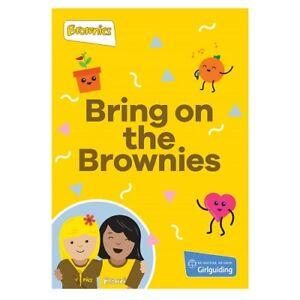 BRING ON THE BROWNIES HANDBOOK OFFICIAL BROWNIE UNIFORM NEW