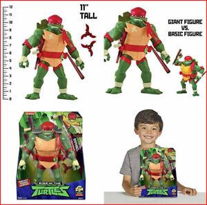 "une nouvelle action fig. Rise of the Teenage Mutant Ninja Turtles Mutant XL 11/"" Raphael"
