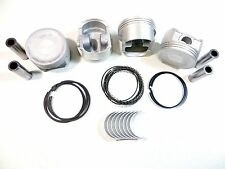 Upgraded Piston/Ring+Rod Bearing Kit (Std) 01+ 1.7L Honda Civic DX/EX/HX/LX D17A