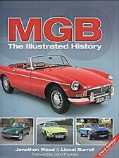 MG MGB THE ILLUSTRATED HISTORY MGC V8 RV8 EXPERIMENTALS ROADSTER GT MGA 3RD EDIT