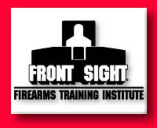 courses rentals etc. World Class Front Sight Training Gift Certificates