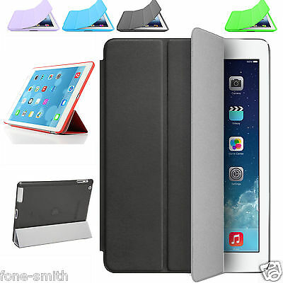 Ultra Thin Magnetic Smart Slim Stand Cover Case for Apple iPad 4 3 & Air 2 Mini