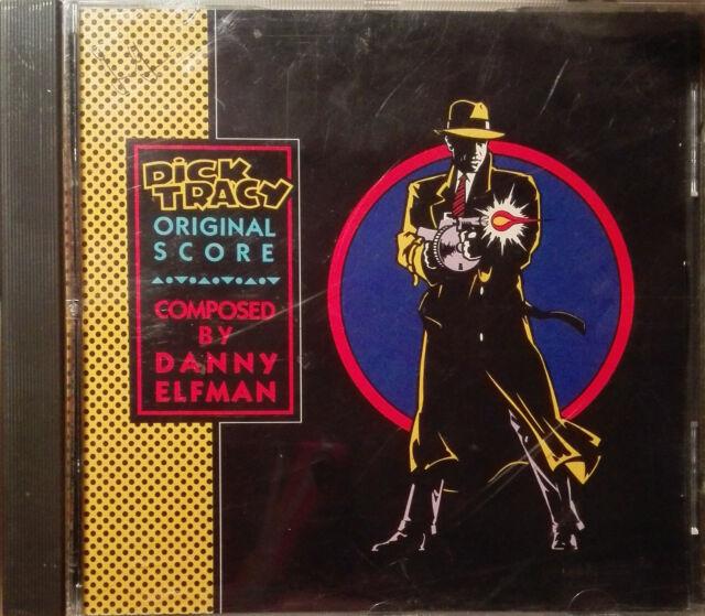 DICK TRACY - CD Soundtrack - DANNY ELFMAN