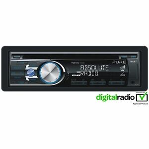 Pure-DAB-Radio-Car-Headunit-Stereo-CD-Player-With-iPhone-Control