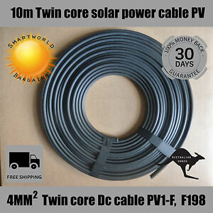 10-Meter-4mm-Twin-Core-Solar-Power-Cable-PV-Photovoltaic