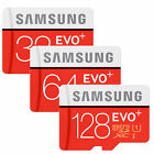 SAMSUNG EVO+ PLUS micro SD SDHC SDXC CARD 128GB 64GB 32GB 16GB - 80MB/s CLASS 10
