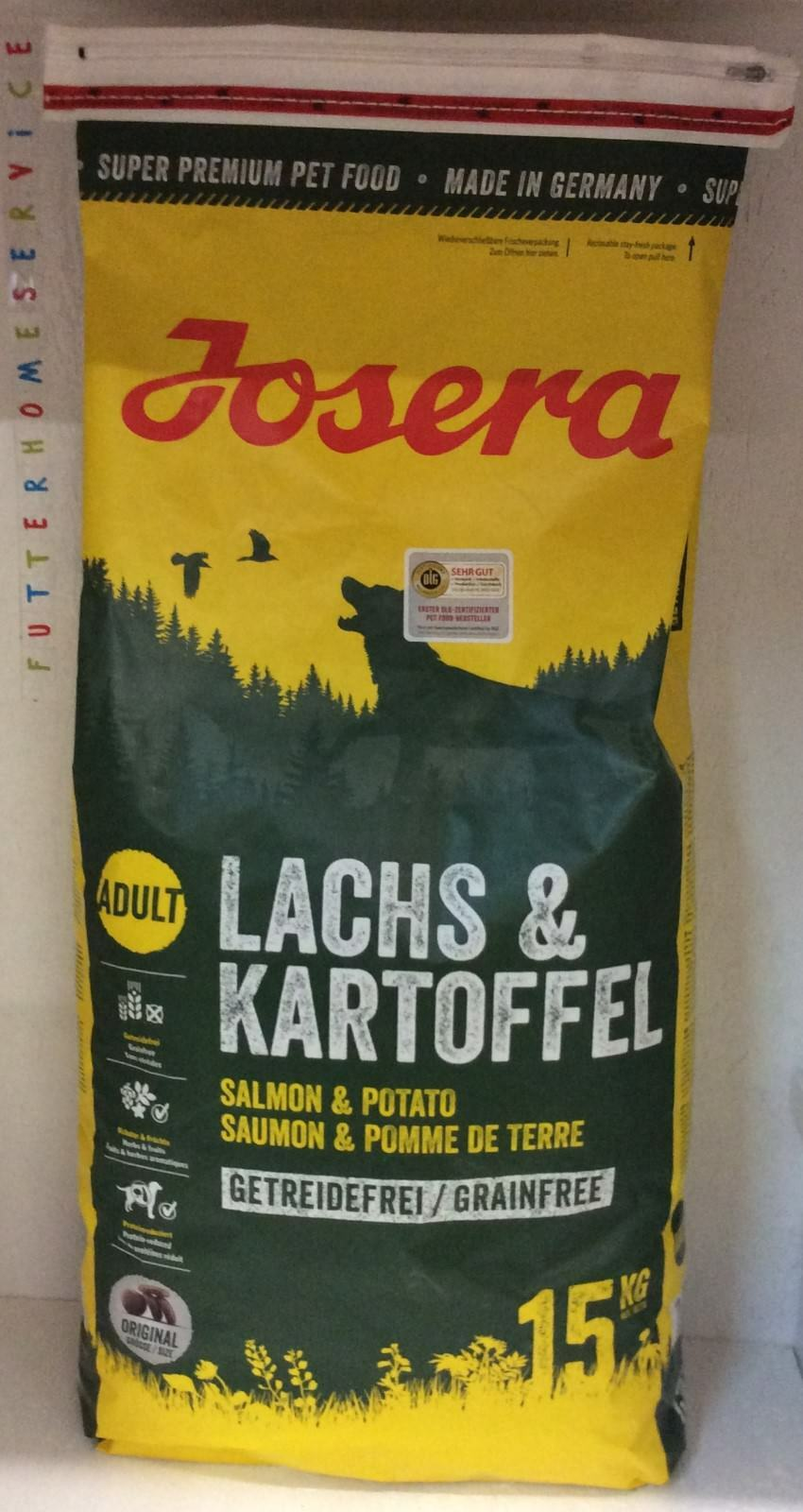 Josera Lachs & Kartoffel  15 Kg  + Geschenk