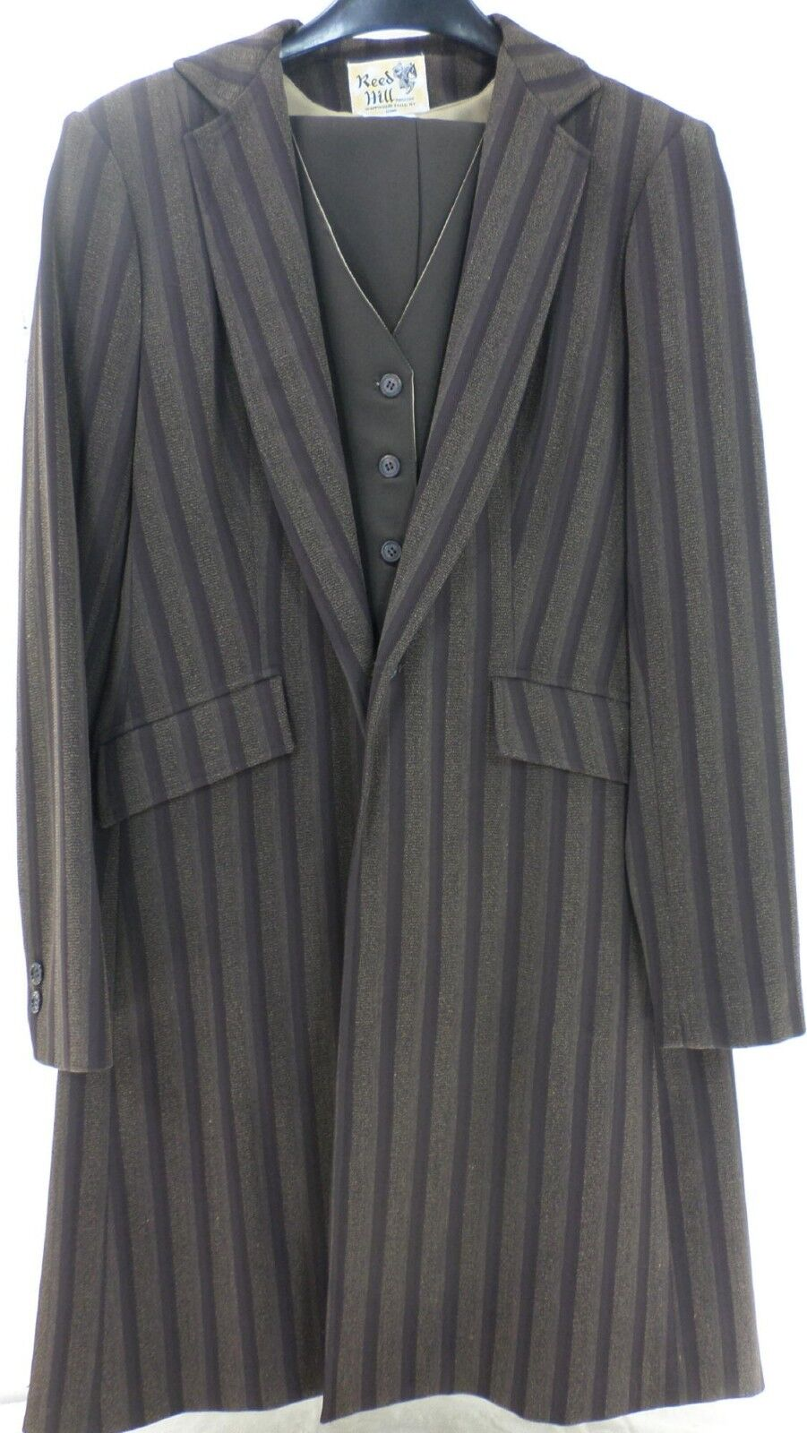 Reed Hill Saddleseat Ld 3p suit Brown Coordinate  poly size 8  - USA