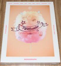 TWICE TWICECOASTER : LANE1 MONOGRAPH L.E PHOTOBOOK + DVD + PHOTOCARD SET NEW