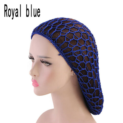 1PC  Women Rayon Snood Crocheted Hair Hairbun Net Hat Wig Cap Hair Accessories