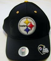 Pittsburgh Steelers Men's Hat One Size Adjustable Black Embroidered Cap
