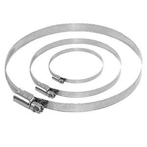 Spannbereich-Bandschellen-80-340-Rohrverbindung-Schlauch-Verbindungs-Schelle