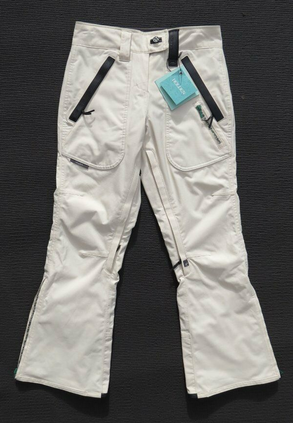 239 NEW NWT HOLDEN Women's Karmella Canvas  Leather Ski Snowboard Pants size XS  exclusive