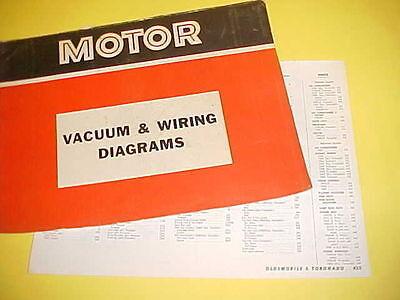 1965 1966 1967 1968 1969 Oldsmobile 98 Delta 88 Toronado Vacuum Wiring Diagrams Ebay