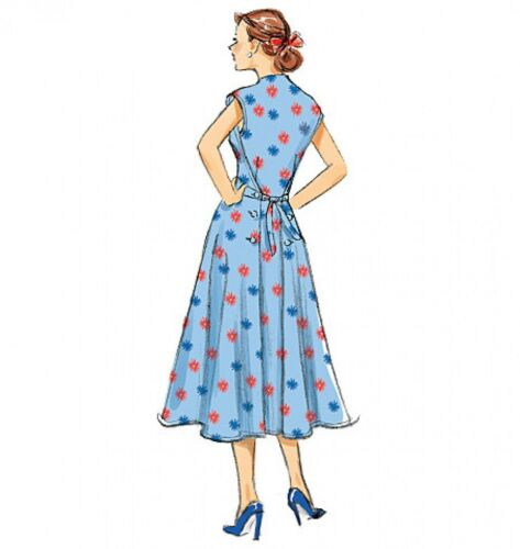 Butterick-6212-M Butterick Ladies Sewing Pattern 6212 Vintage Style Dresses