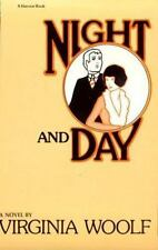 Night And Day (Harvest Book, Hb 263) Woolf, Virginia Paperback