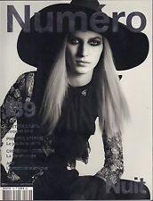 Numero Spanish Fashion Magazine no.139 2012/13 Nuit VG 070616DBE