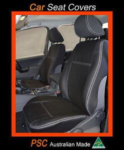 Isuzu Mu X Front Pair 2 Premium Neoprene Waterproof Seat Covers Ebay