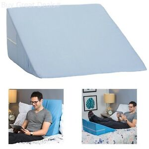 Image Is Loading Memory Foam Wedge Pillow System Comfort Sleep Adjustable