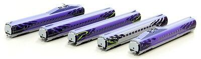 Rokuhan T013-5 500 Type Shinkansen EVA 5-Car Extension Set