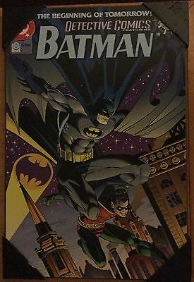 Batman & Robin 0 * Wood Wall Art * Zero Hour poster 13 x 19 NEW modern Tim Drake