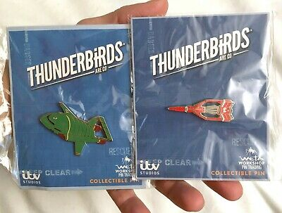 British TV Series UK Imported Enamel Pin Gerry Anderson THUNDERBIRDS Model #1