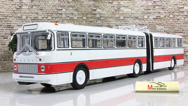 Scale model 1 43, Ikarus-180, Weiß rot 1964