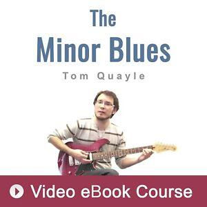 Blues Guitar Lesson by Tom Quayle (VIDEO) - Video Guitar Lesson
