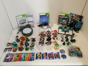 Lot-Of-Skylanders-Disney-Infinity-amp-Lego-Dimensions-Games-Figures-For-XBOX-360