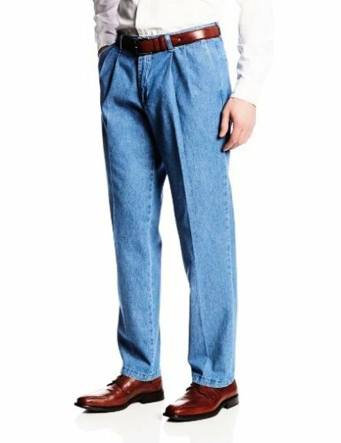 LEE Mens Big /& Tall Stain Resistant Relaxed Fit Pleated Pant