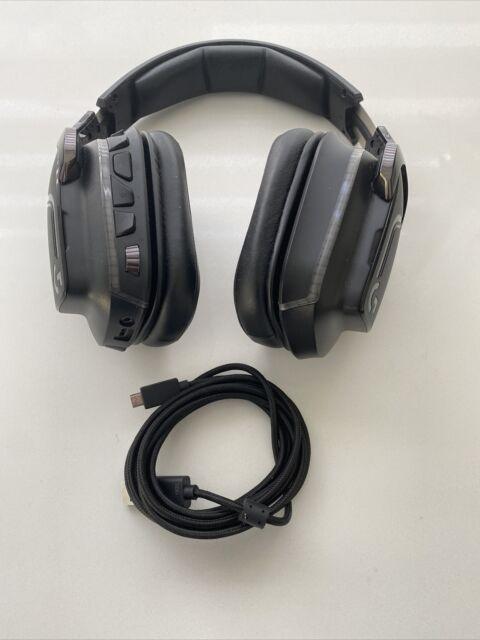 Logitech G935 Wireless 7.1 Surround Lightsync Gaming Headset Black *NO MIC/READ*