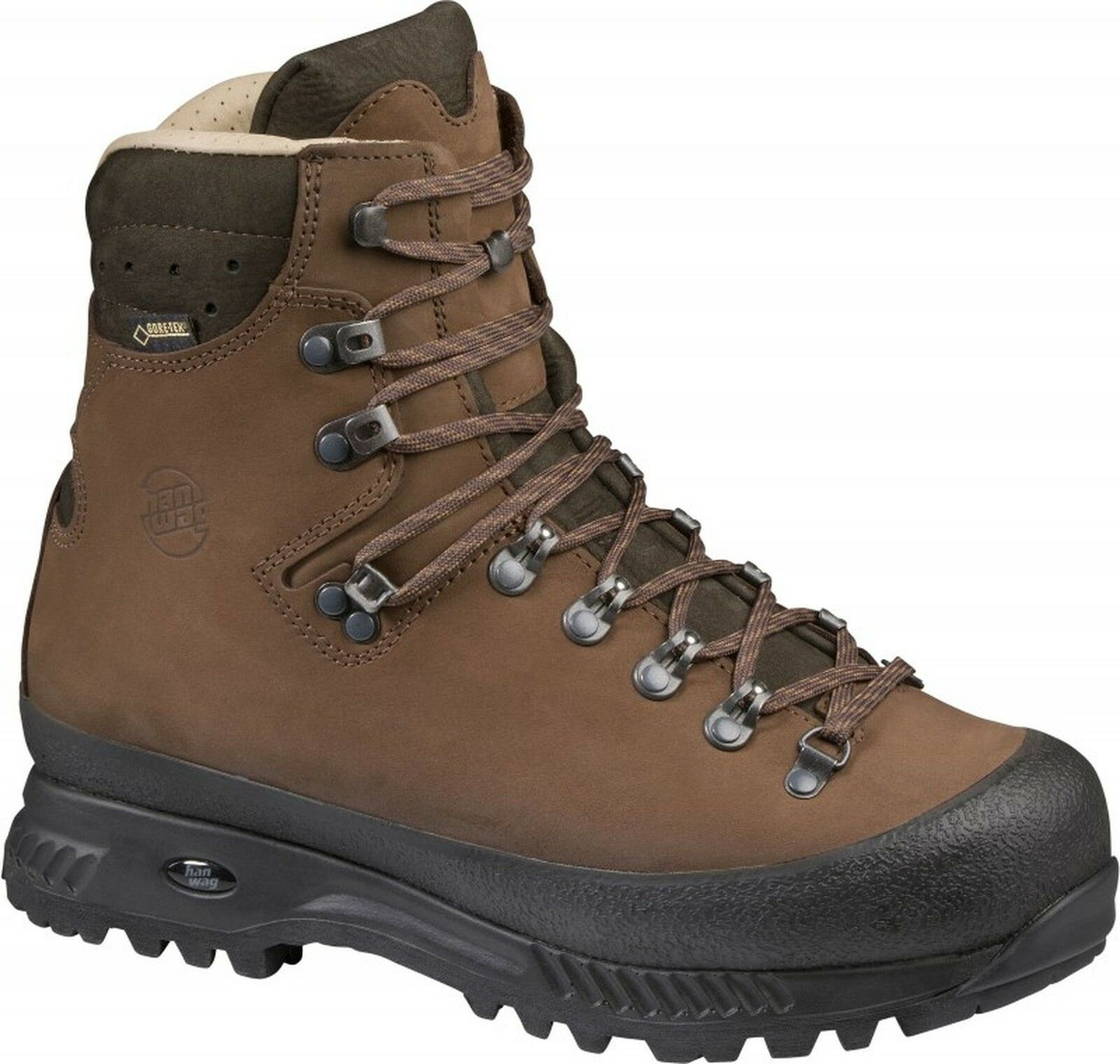Hanwag botas de Trekking Alaska Wide GTX más Amplio Hacer  Tamaño 14-49,5 Tierra  n ° 1 en línea